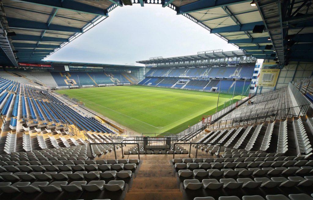 Blick ins Stadion von Arminia Bielefeld