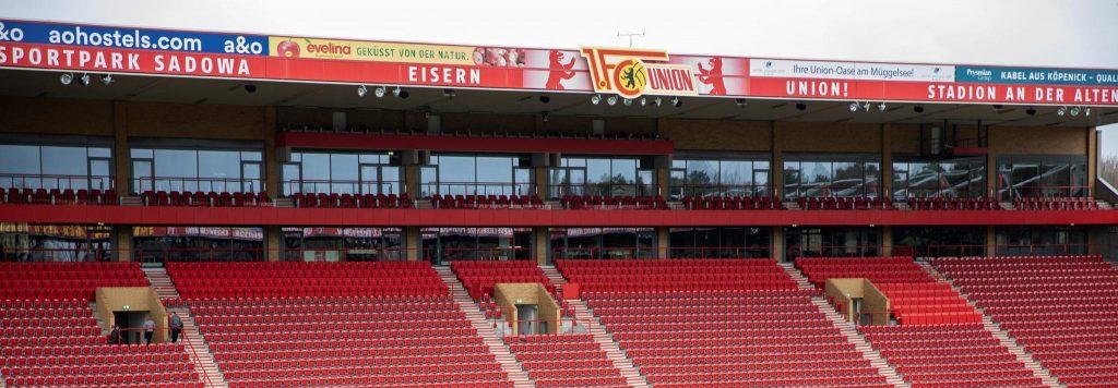 leere Tribüne im Stadion von 1. FC Union