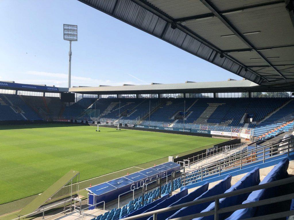 Blick ins Stadion vom VFL Bochum
