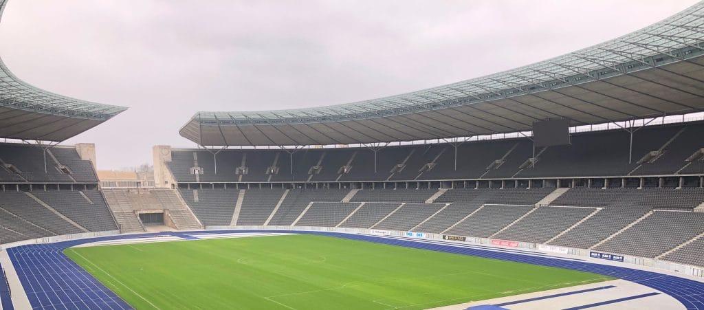 leeres Stadion Hertha BSC