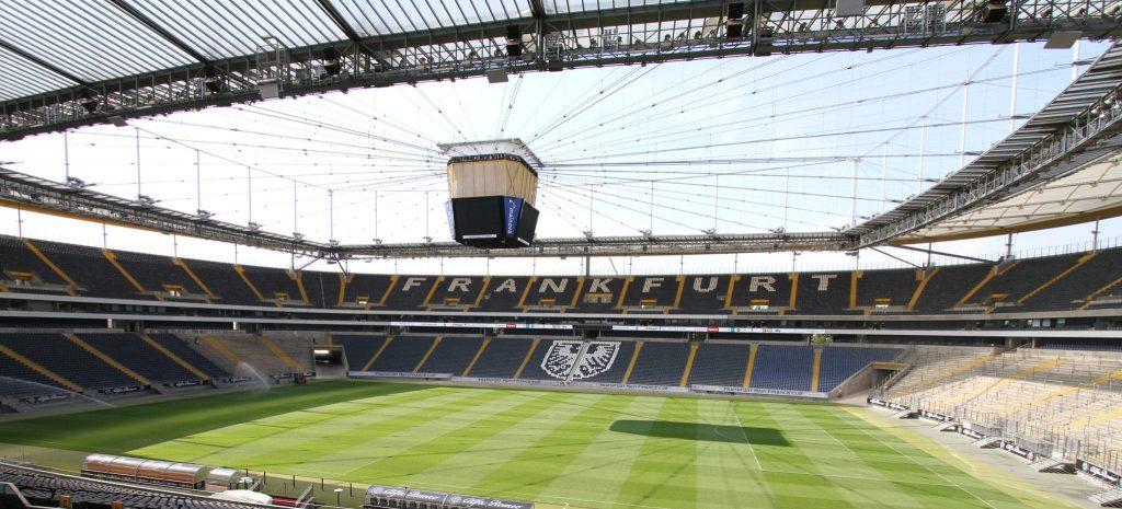 Blick ins Stadion von Eintracht Frankfurt