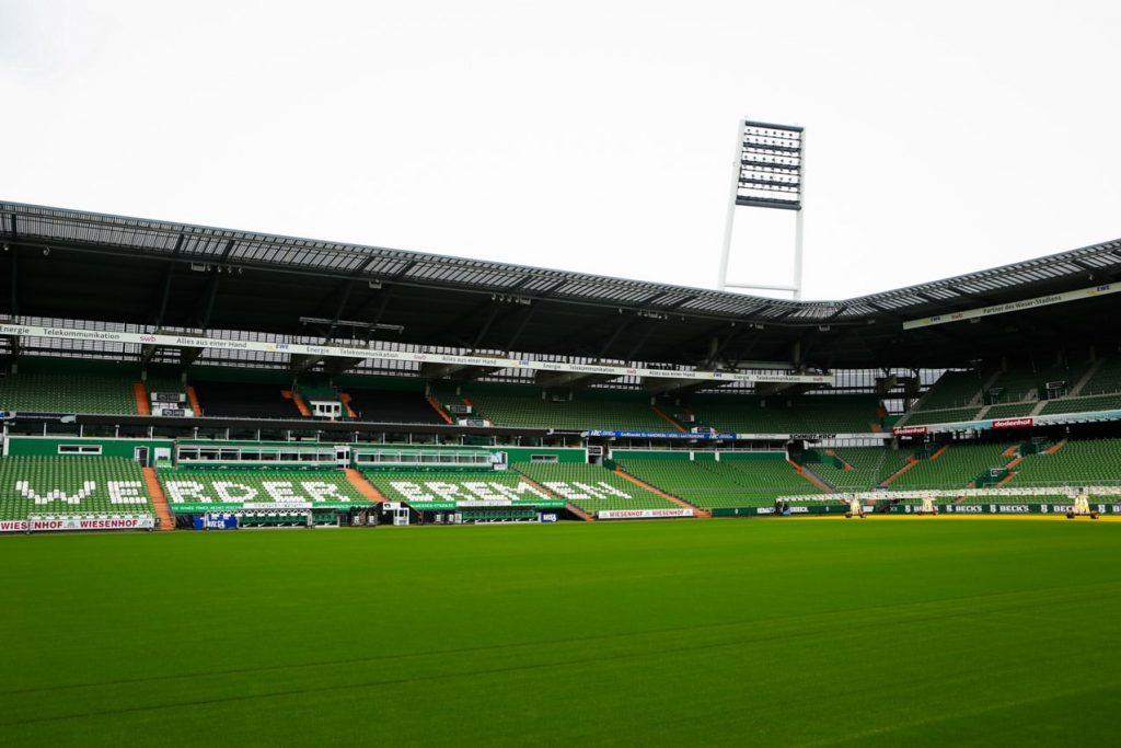 Blick ins Stadion von Werder Bremen