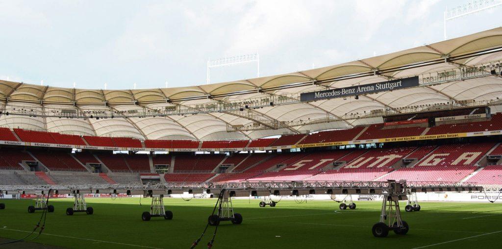 Blick ins Stadion vom VFL Stuttgart