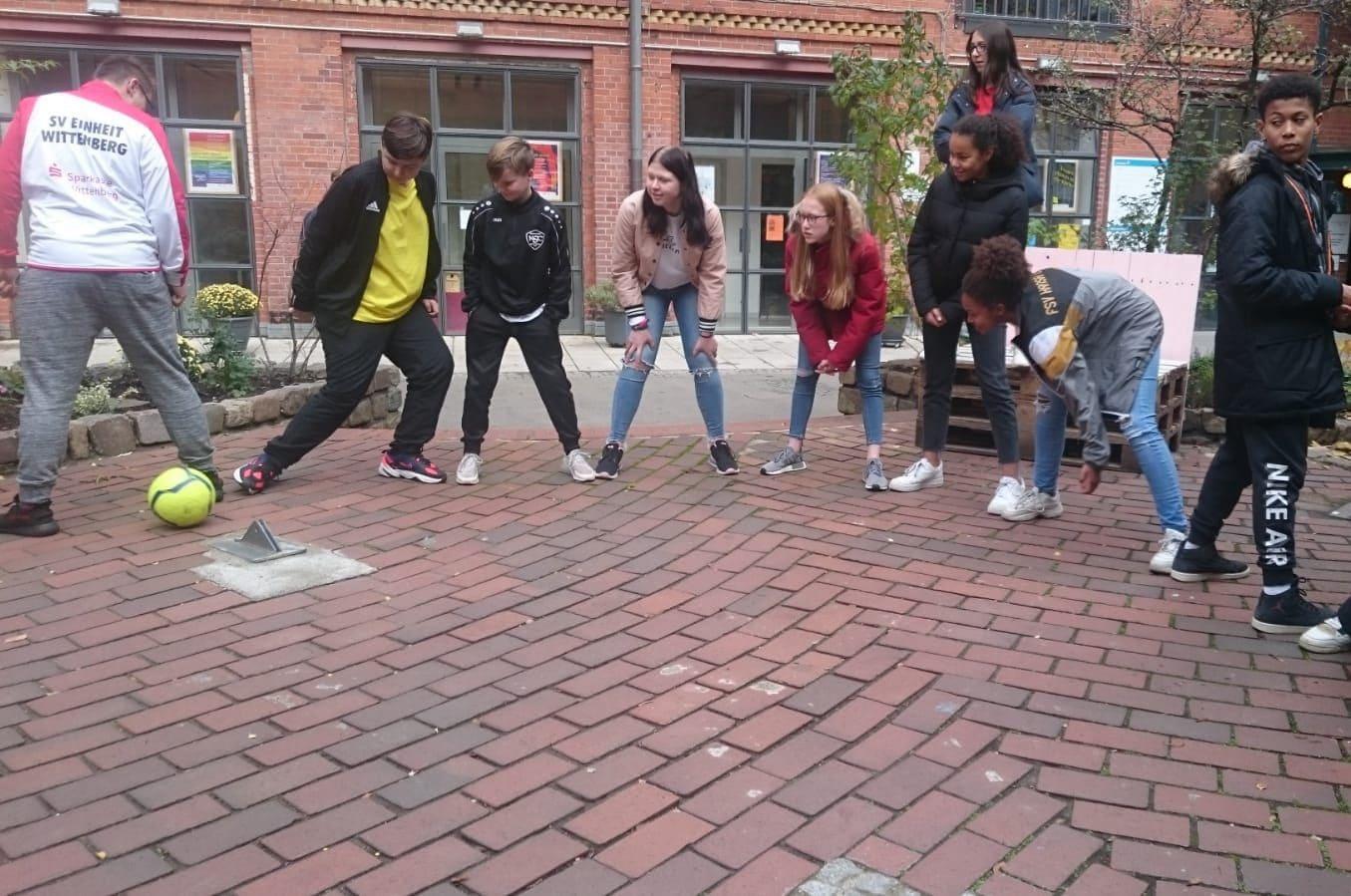 Workshoparbeit mit Jugendlichen